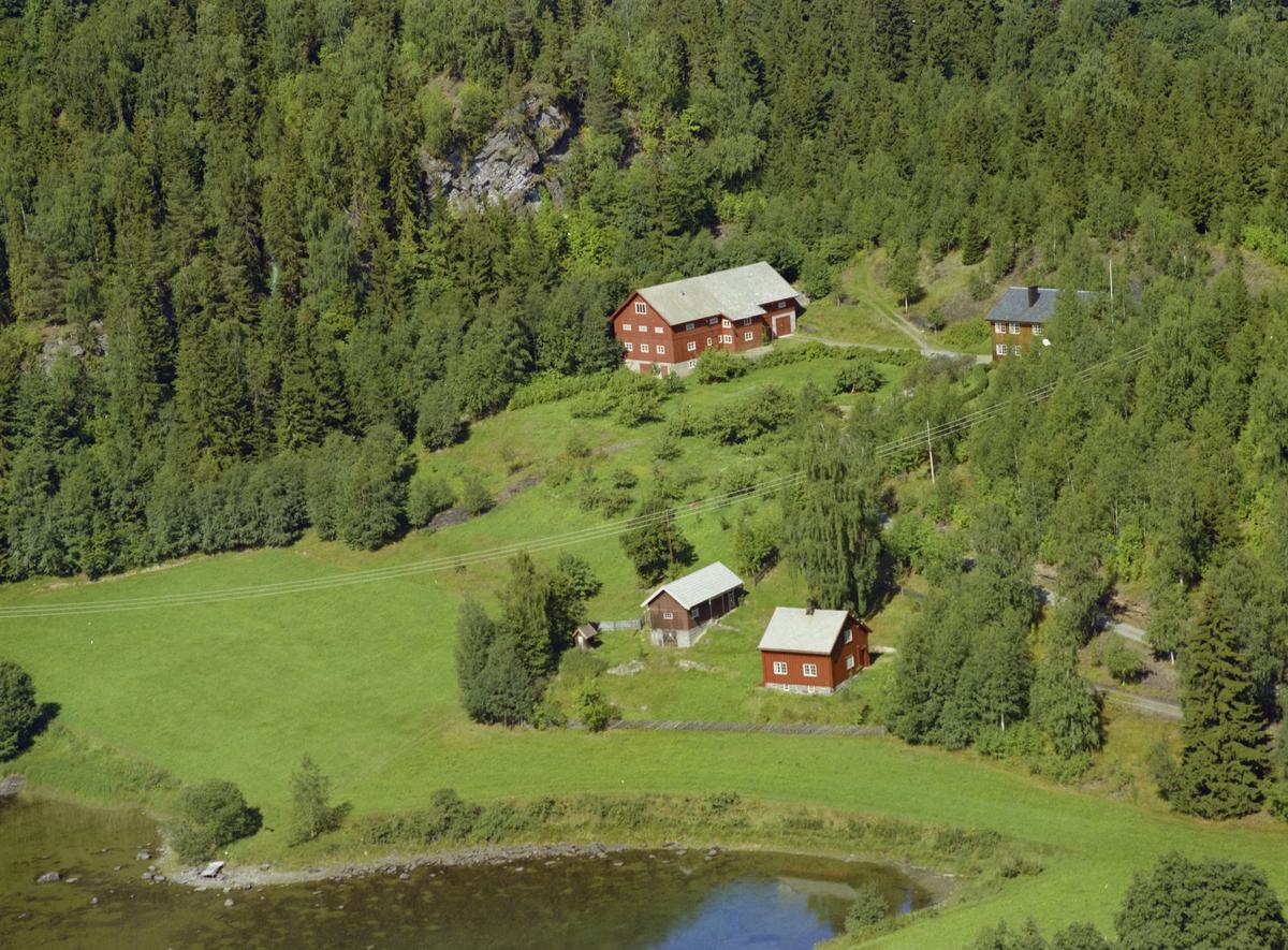 Fåberg, bygninger, kulturlandskap, gårdsbruket Evjen.