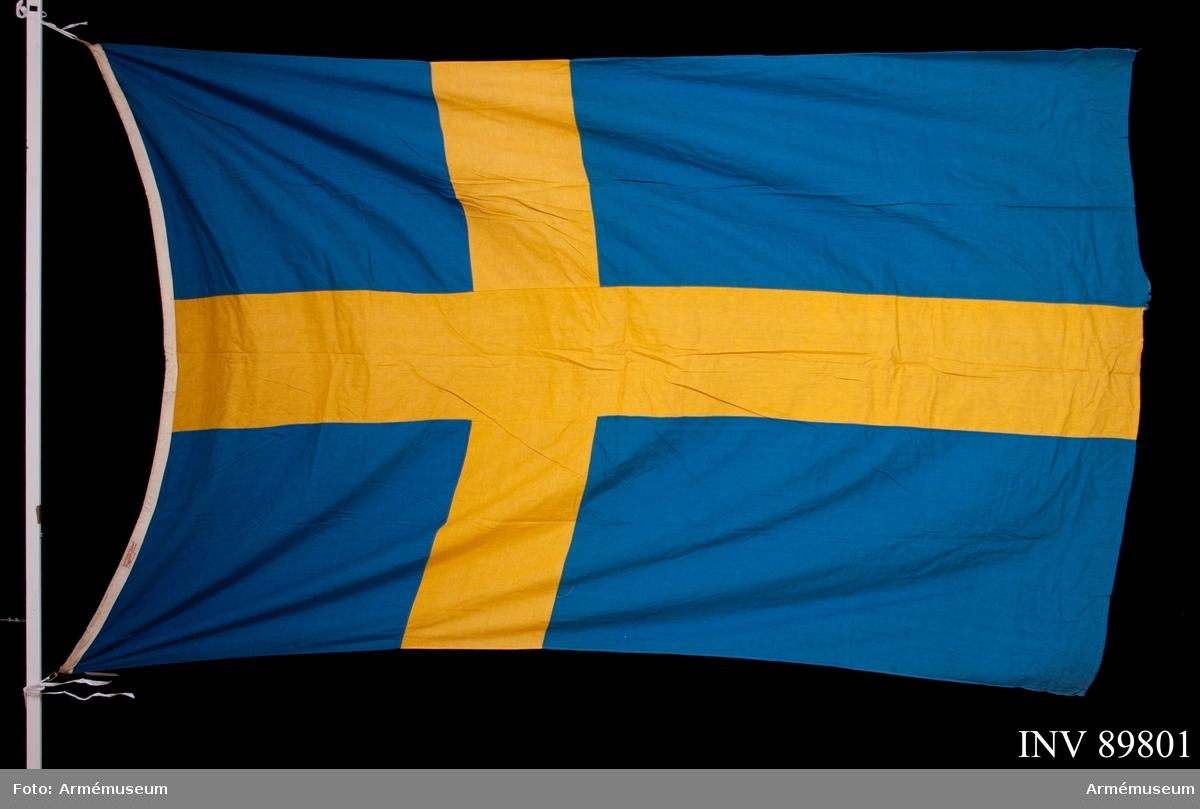 Flaggan ska ha använts av Sigfrid och Lilly Jonsson.
