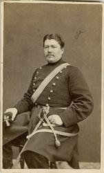 Porträtt av Ivan Albin Örtendahl, löjtnant vid Göta artiller