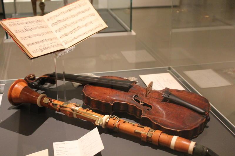 Fiolin og fløyte