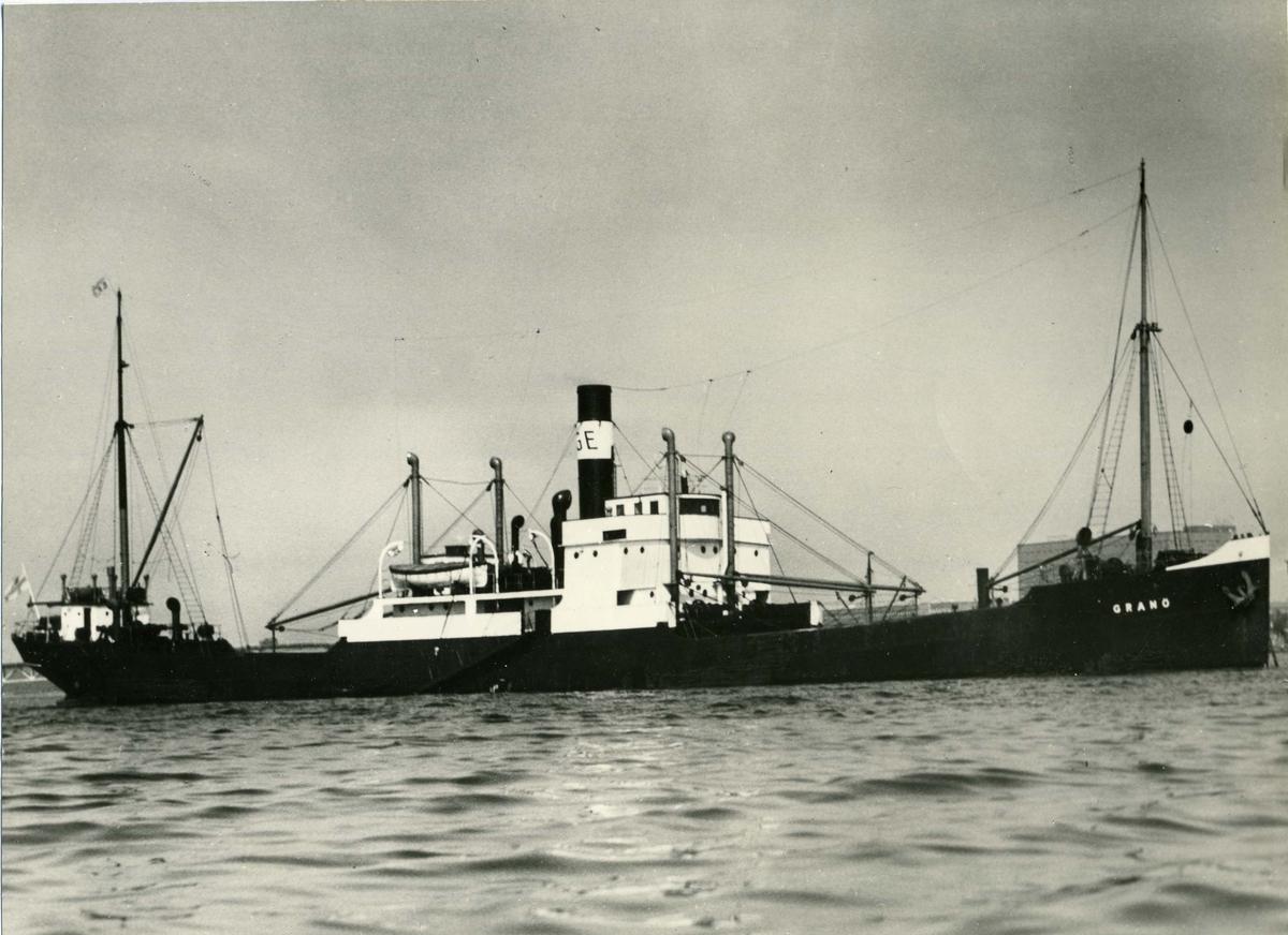 Lastfartyget ss Granö ägdes av Firma Gustaf Erikson  1947 - 1959