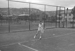"""Foto av Tennisspillere på """"Sommerro"""", for Adressa"""