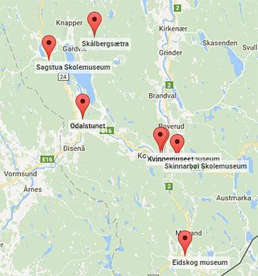 Kongsvingerregionen kart