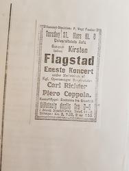 Annonse fra avisen, 1918 (Foto/Photo)