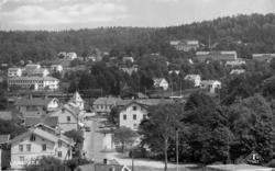 """""""Ljungskile. Södra infarten. Vykort TF 7982 Foto BL 821"""" enl"""