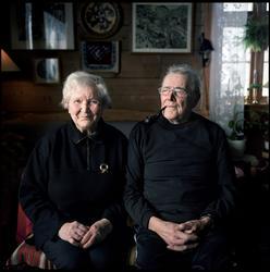 Svanhild og Olav Åhaug, Ålhus, 13. februar [Fotografi]