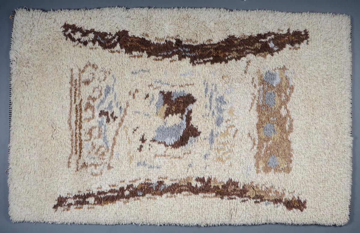 Teppet er det andre av to eksemplarer i museets samling, se FTT. 43622