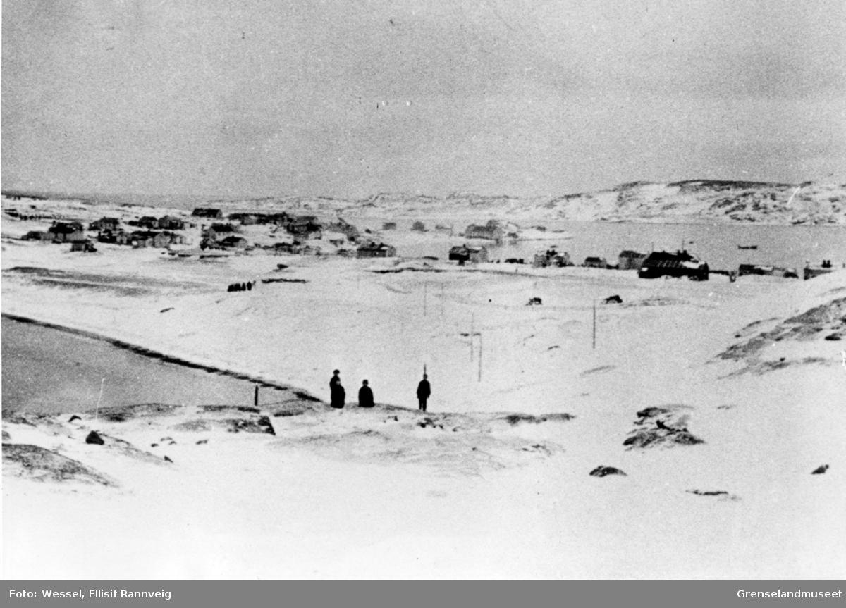 Parti av Bugøynes, 1900.