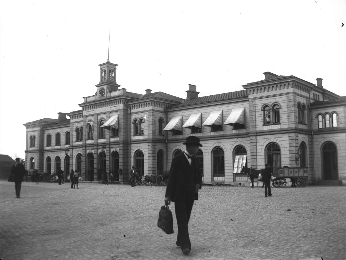 Centralstationen i Norrköping.