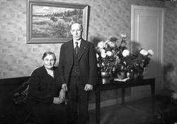 """""""Fru Pettersson 60 år"""" med sällskap i hemmet i Storvreta, Up"""