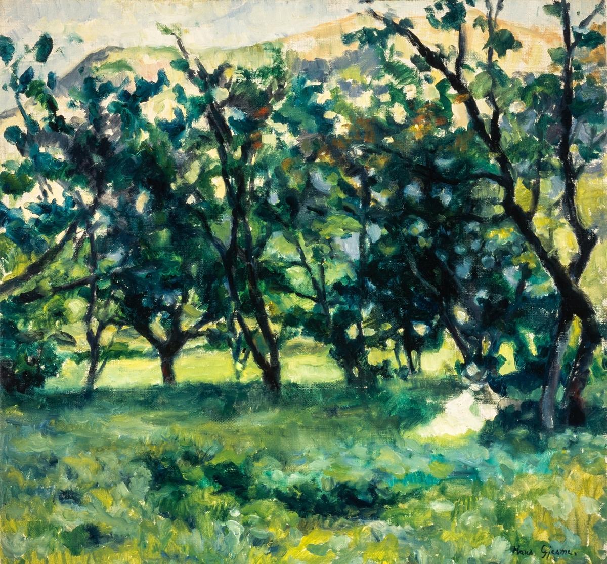 Kirsebærhagen [Maleri]