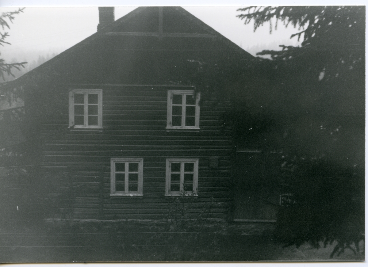 Bygningen på Milevatnet, Leirskogen, Sør-Aurdal.