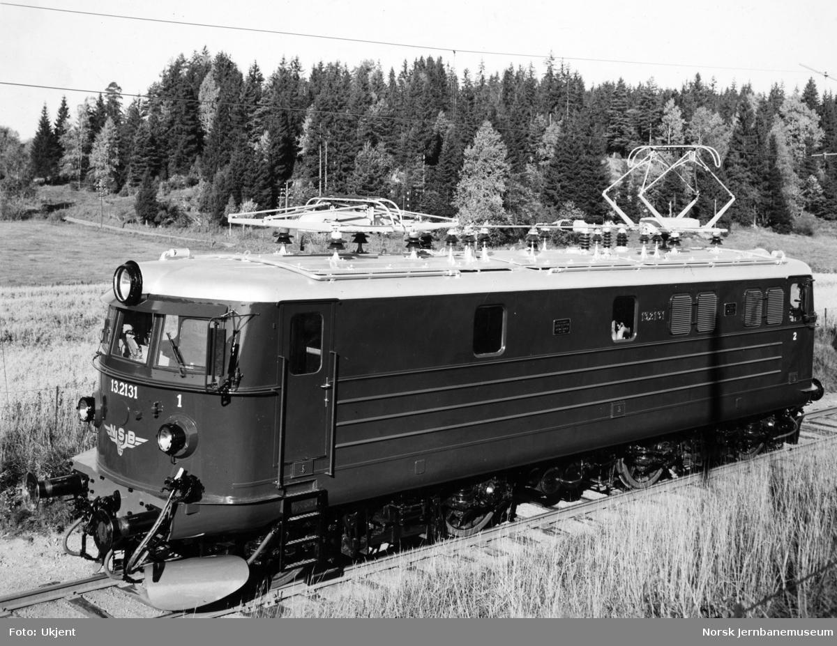 Elektrisk lokomotiv El 13.2131 som nytt
