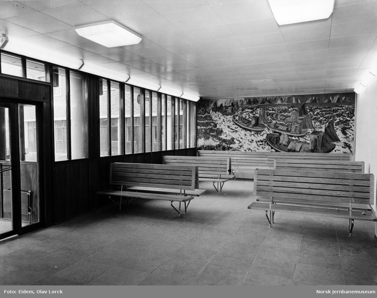 Bodø stasjonsbygning, venterom