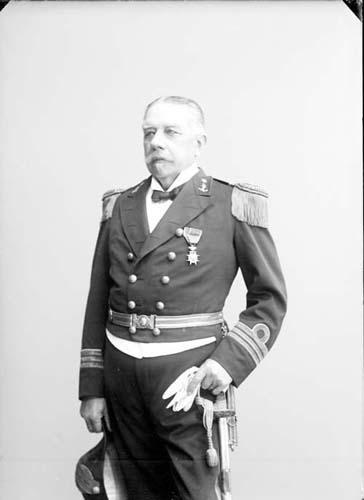Robert von Rosen i uniform.