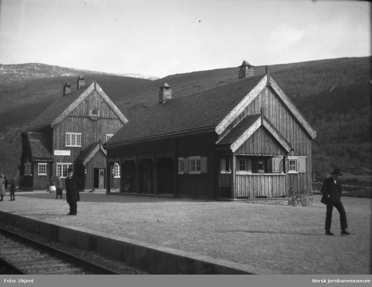 Kongsvoll stasjon med bygningene