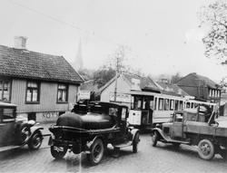 Strømsveien ved Hedmarksgata.