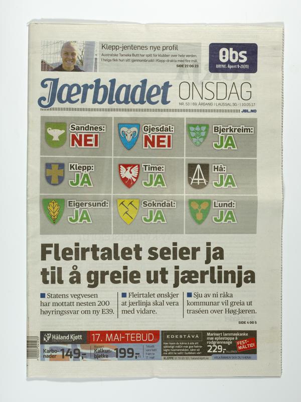 Jærbladet (Foto/Photo)