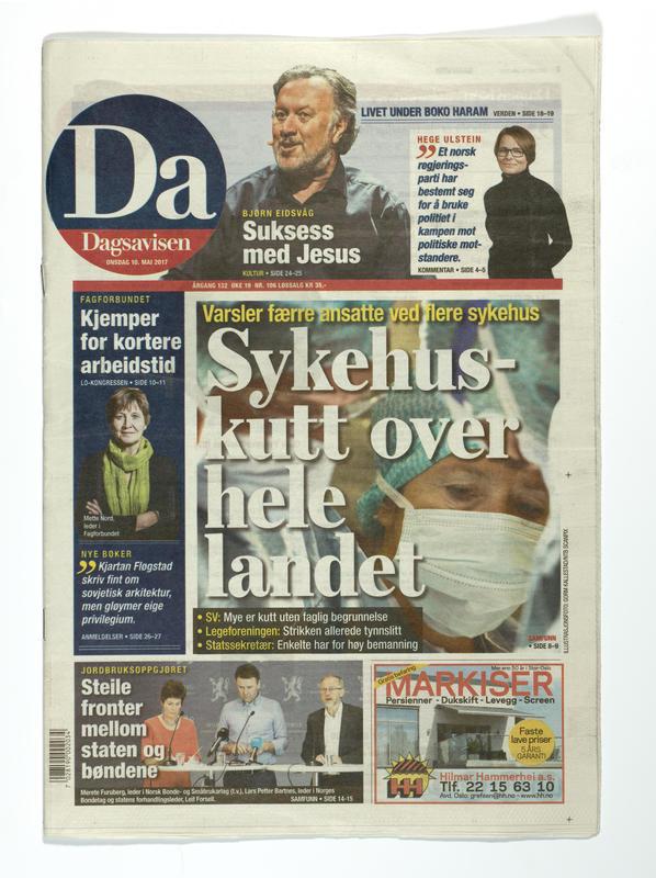 Dagsavisen (Foto/Photo)
