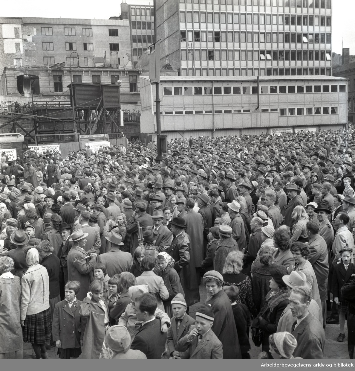 1. mai 1959, Youngstorget.