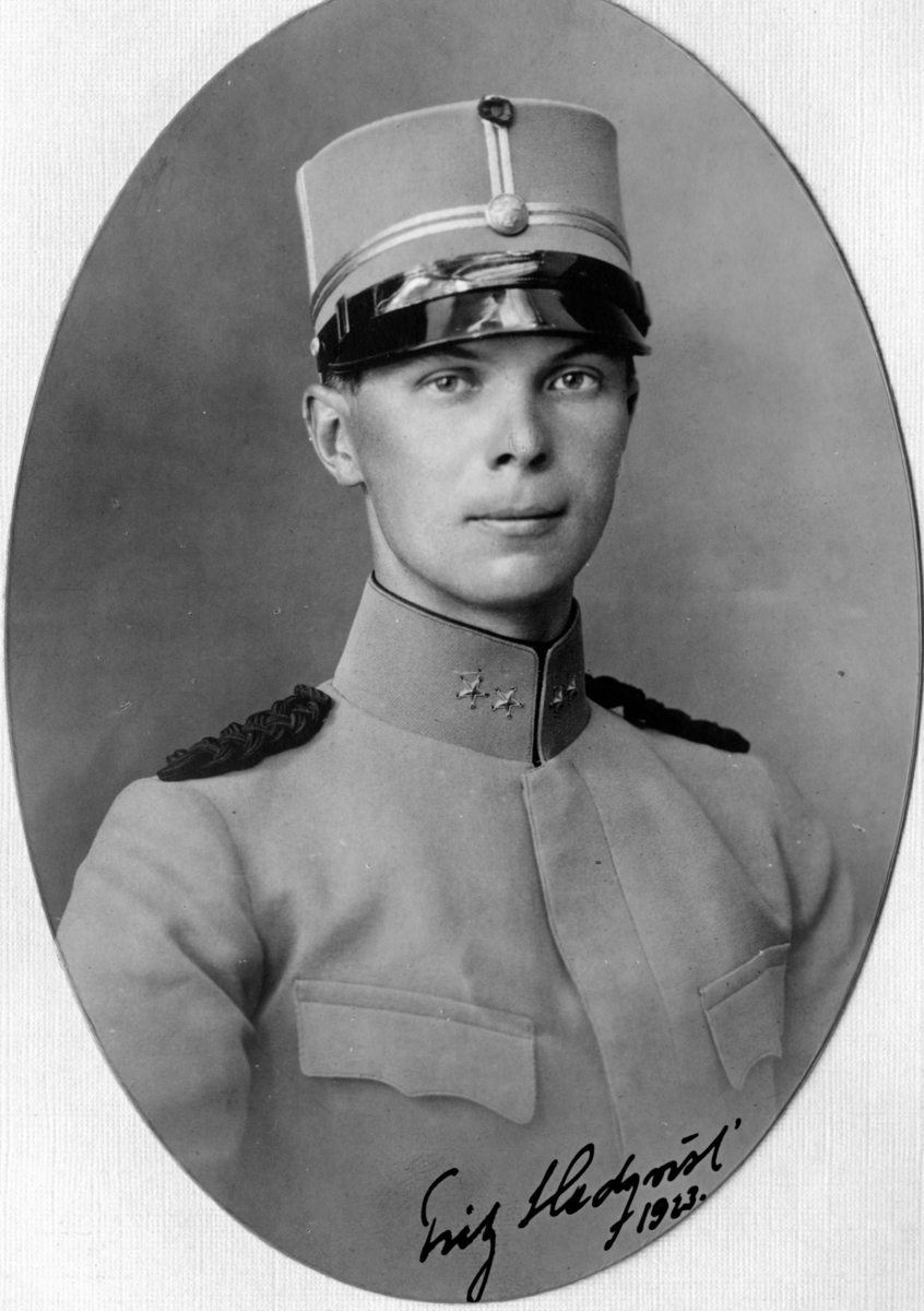 Hedqvist, Fritz, löjtnant, Ing 1.