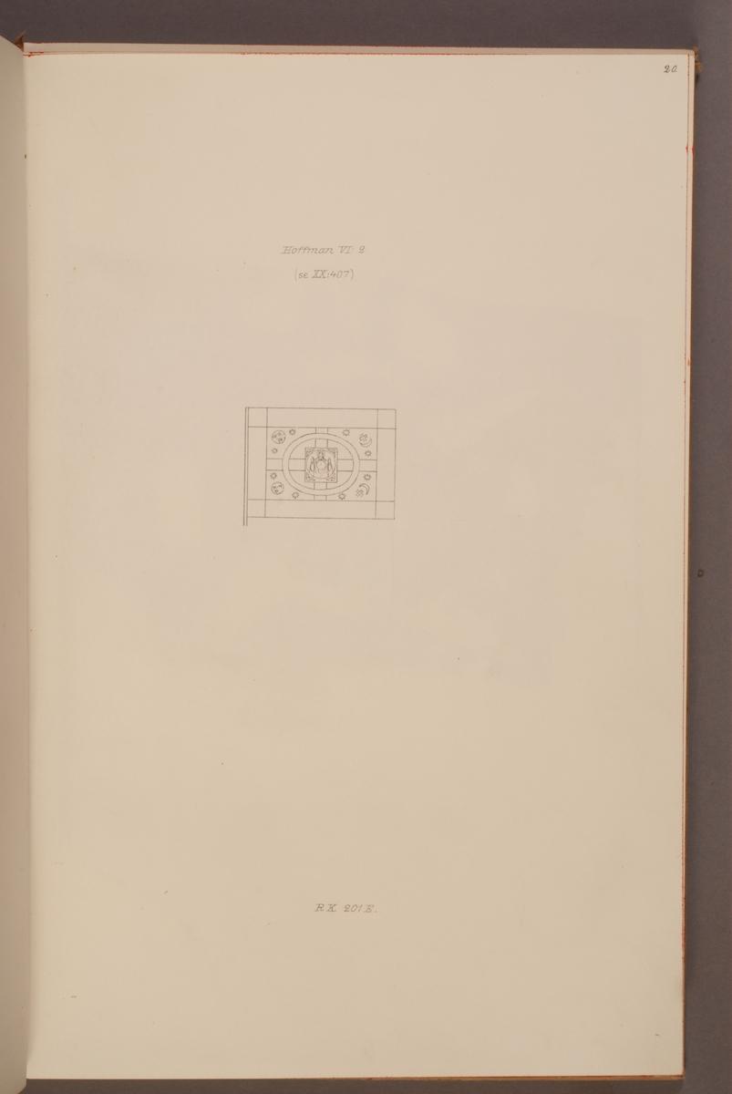 Avbildning föreställande fälttecken taget som trofé av svenska armén. Den avbildade fanan finns bevarad i Armémuseums samling, för mer information, se relaterade objekt.