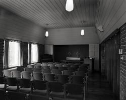 Innsiden av en kirke.