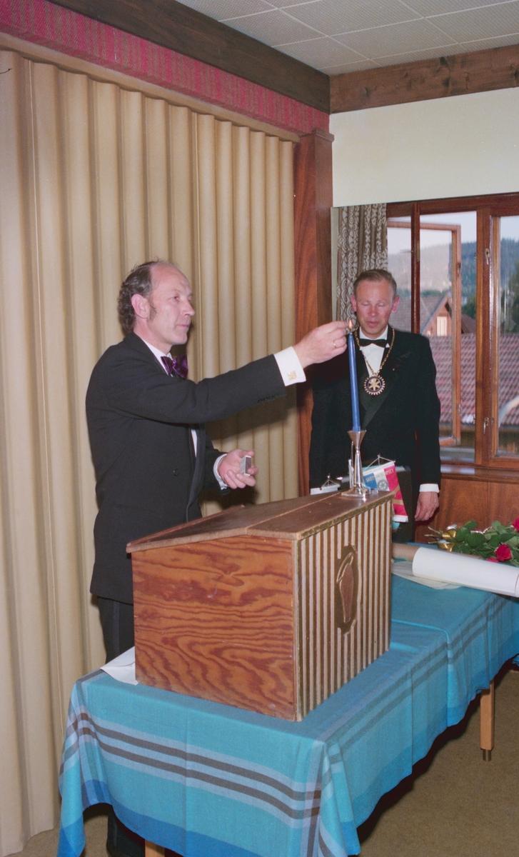 Rotary avd Strømmen, fest på Carlton Hotel