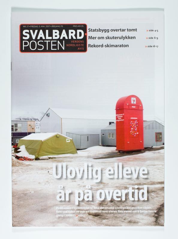 Svalbardposten (Foto/Photo)