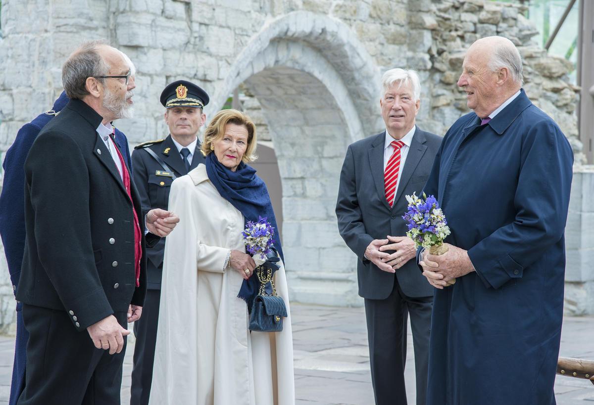 Kongeparet i Hamardomen
