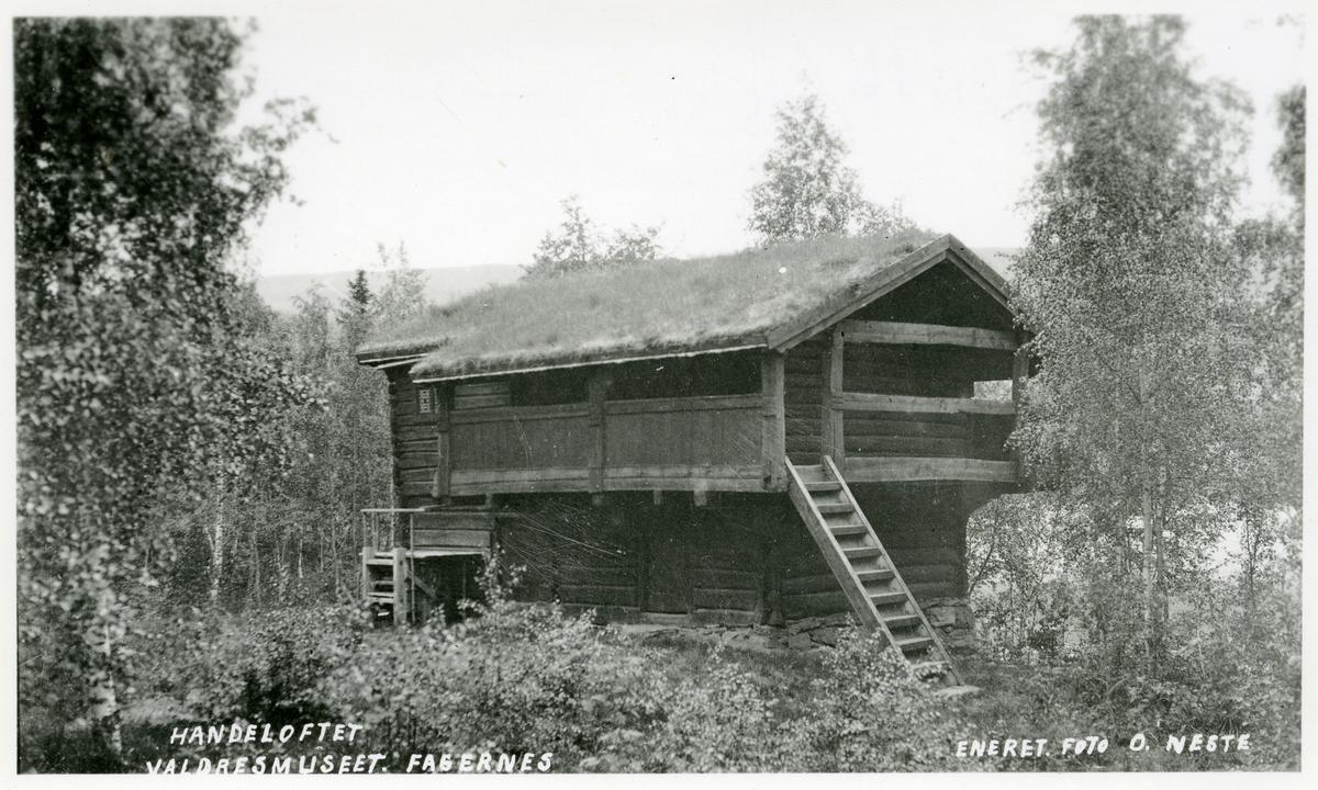 Handeloftet på Valdres Folkemuseum.