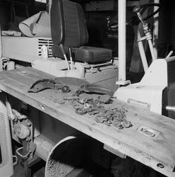 Defekte bremsedeler for Allise-C truck.