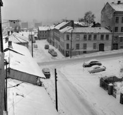 Skedsmogata. Januar 1967