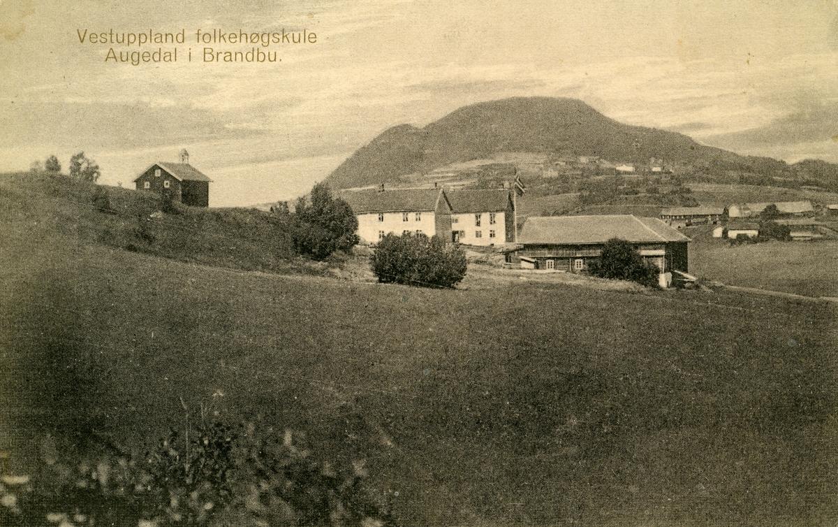 Vestoppland Folkehøgskule, før 1914.