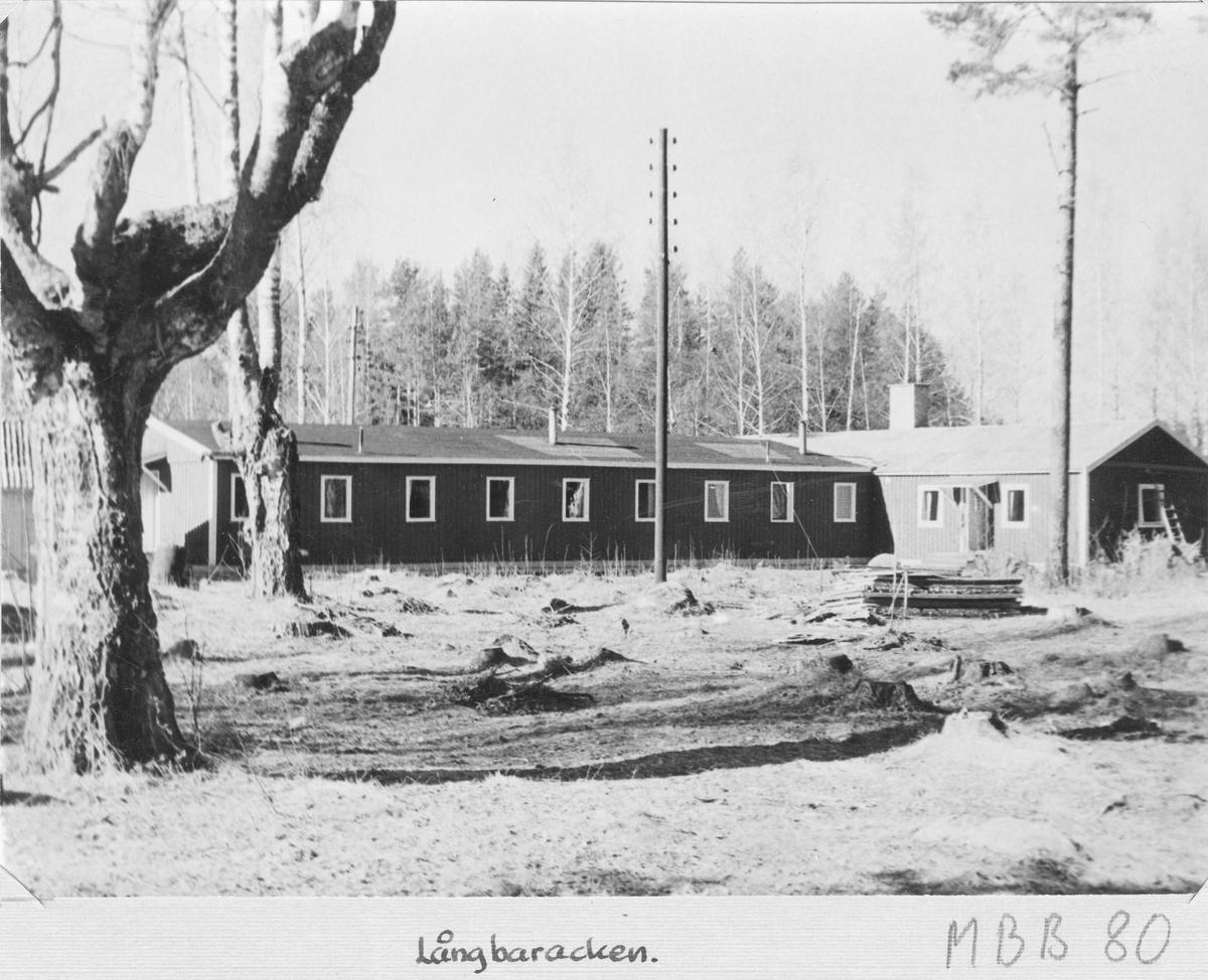 Långbaracken vid Stagården, Bollnäs.