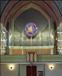 Kirkeorgelet i Molde Domkirke.