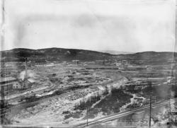 Utbyggingen i Narvik med NSBs lokomotivstall og verksted og