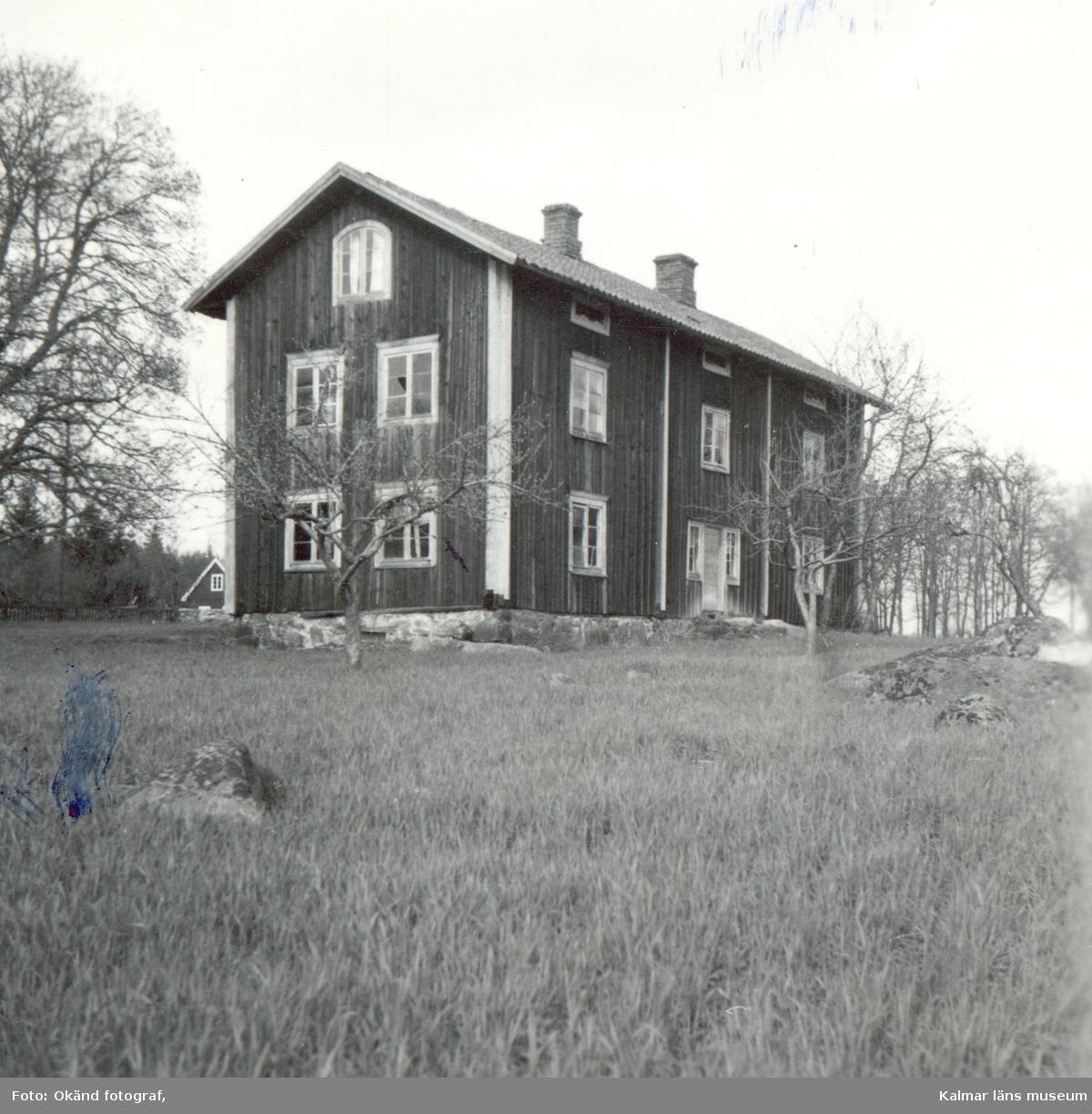 Ett bostadshus i Mjödehult.