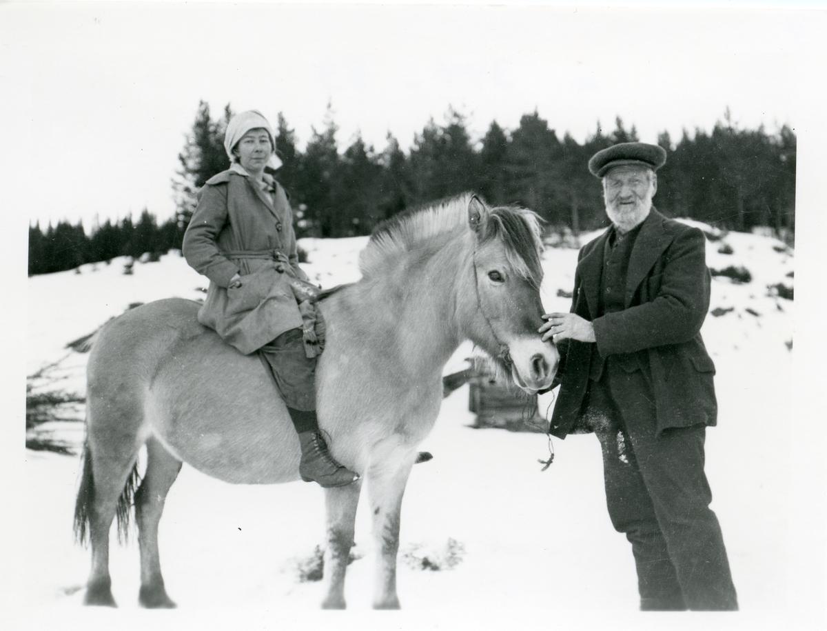 Ola Dalen med dattera Maren.
