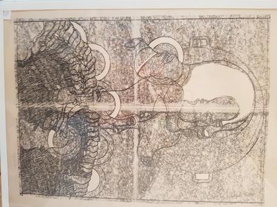 Chimera-tot, RH. Trykk. 75x55 cm. Kr. 10.000