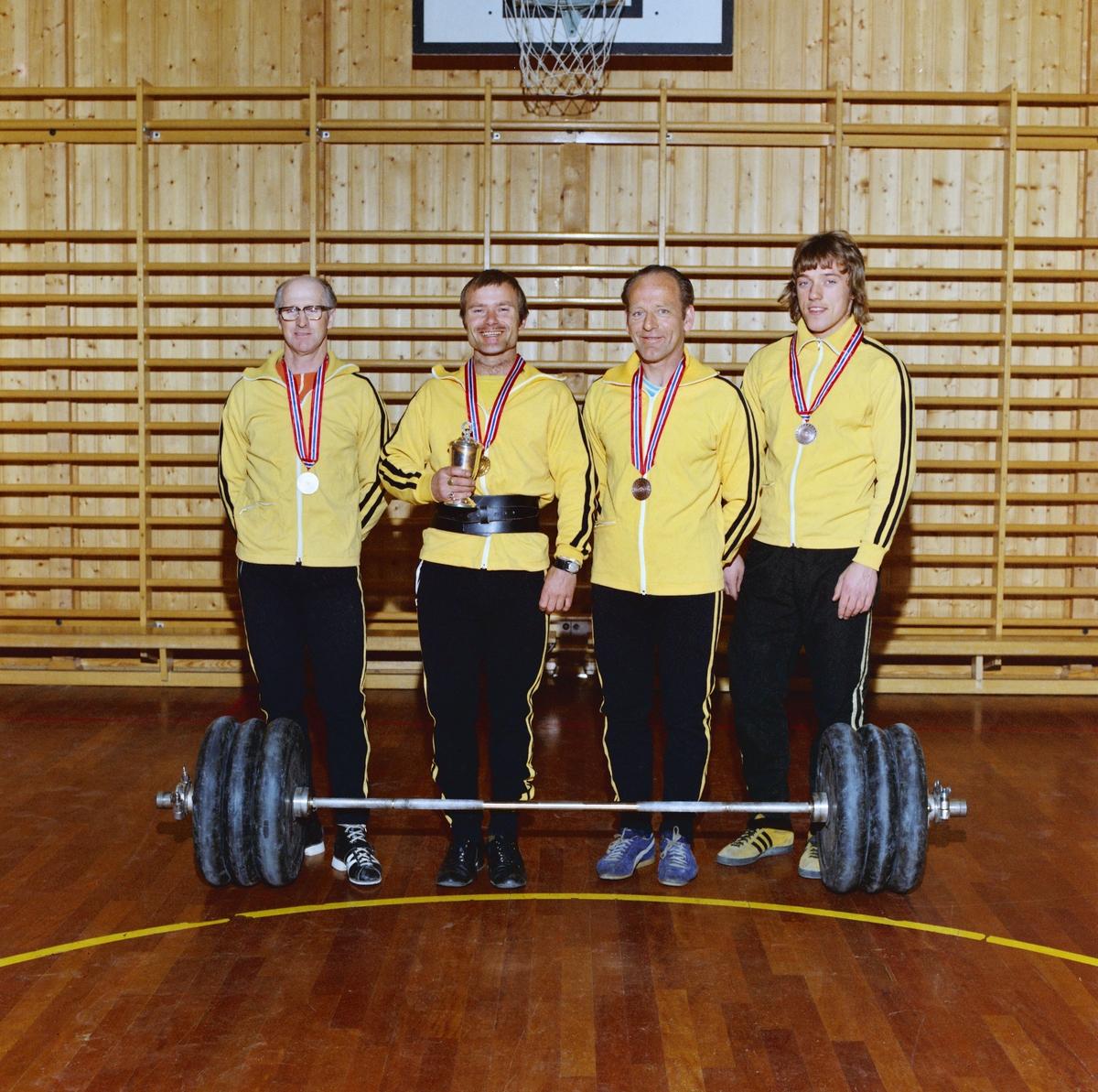 Vektløftere i J.L. Kraftsport i Lillestrøm