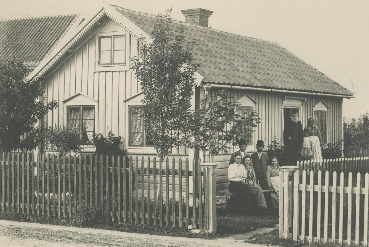 Stuga vid Storgatan i Bergkvara.