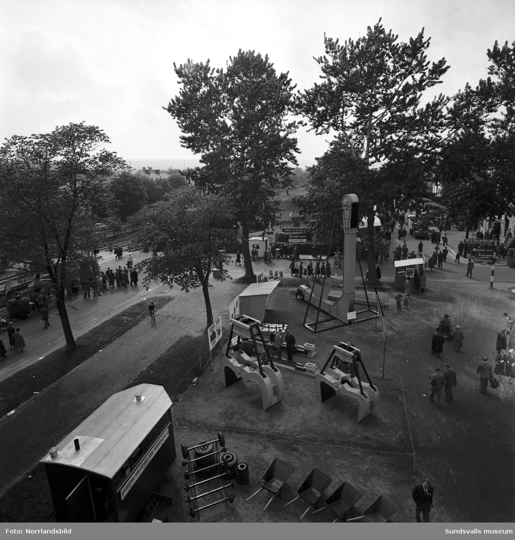 Njurundaverken på Sundsvallsmässan 1954.