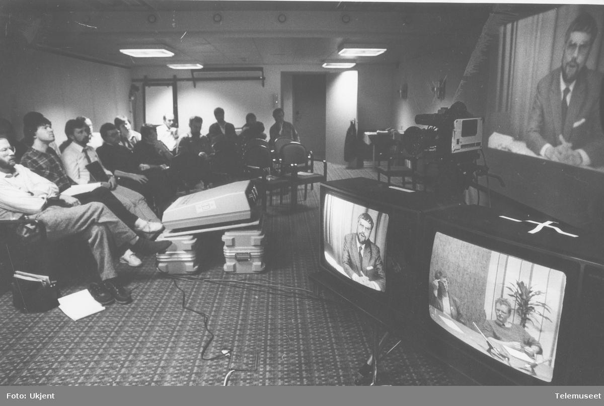 Første videokonferanse i Tromsø
