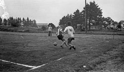 Fotballkamp. Stord spiller kamp på Haugesund stadion. Stor a
