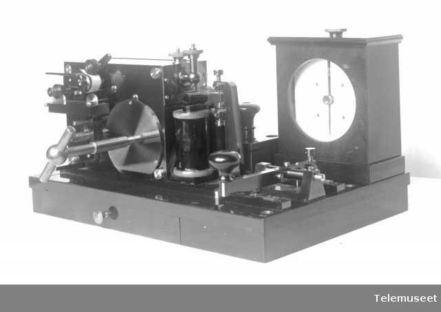 Telegrafapparat 18.8.13. Elektrisk Bureau.
