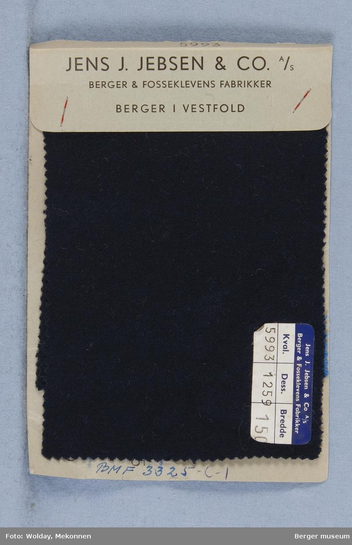 Prøvehefte med 5 prøver Blazer Kvalitet 5993 Melert