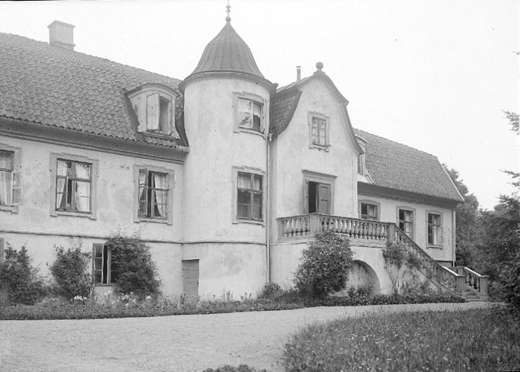 Bildtext: Skånings-Åsaka socken. Skånings härad. Västergötland. Brunsbo.  Foto: K. G. Andersson, Skara.