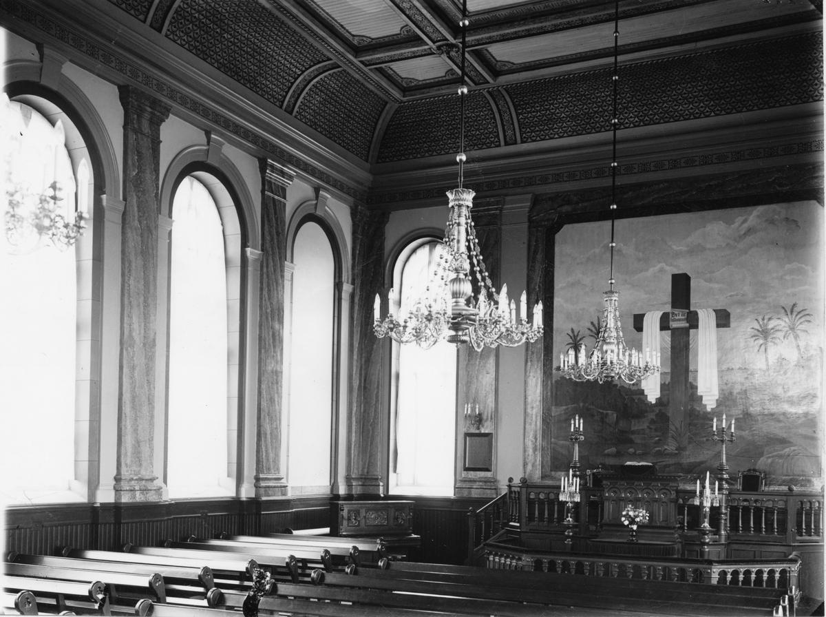 S:t Petri kyrka. (interiör)