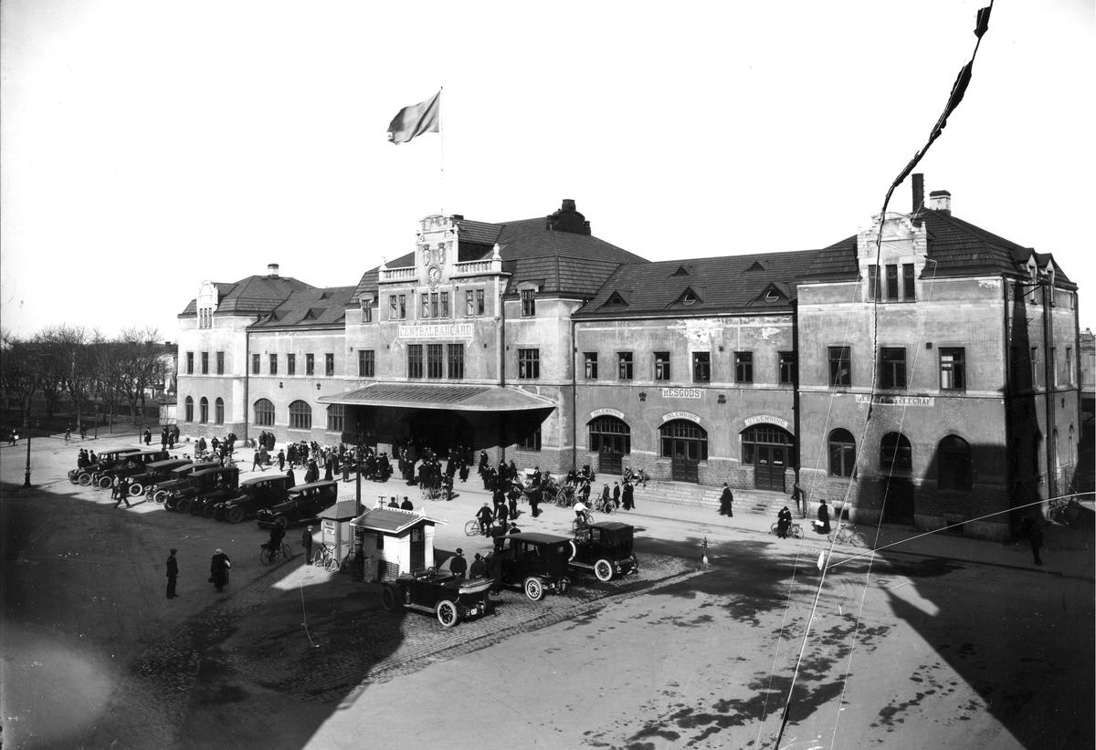 Centralplan med Centralstationen.